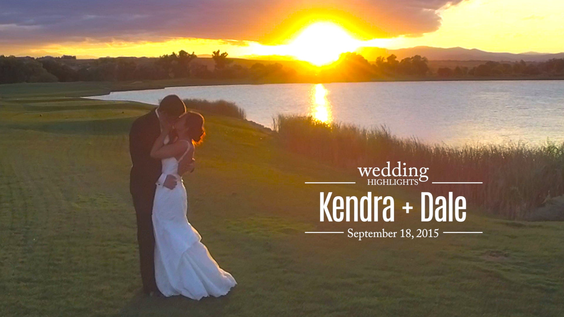Kendra + Dale Wedding Highlights