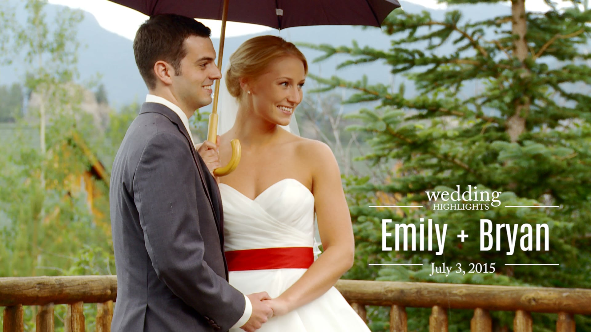 Emily and Bryan Wedding Highlights