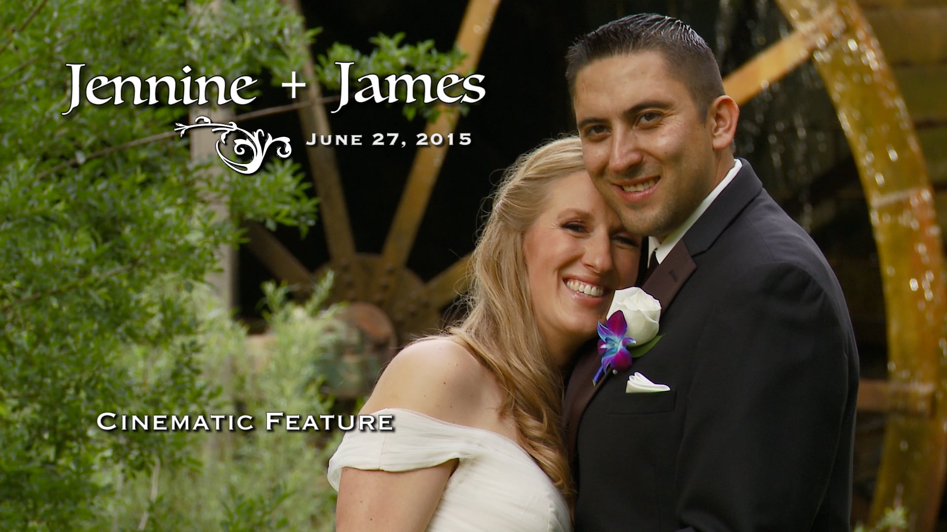 Jennine and James Wedding Feature