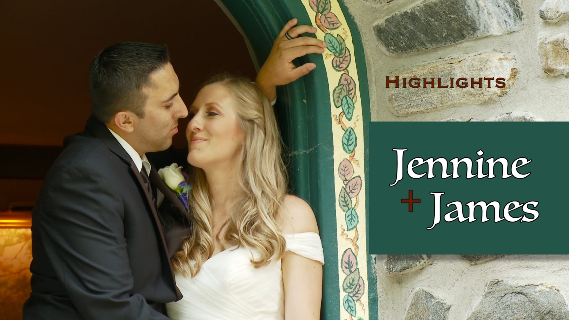 Jennine and James Wedding Highlights