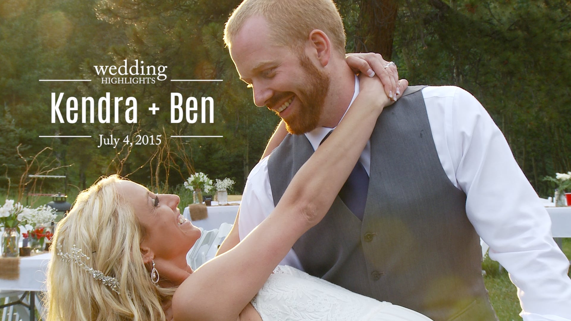 Kendra and Ben Wedding Highlights
