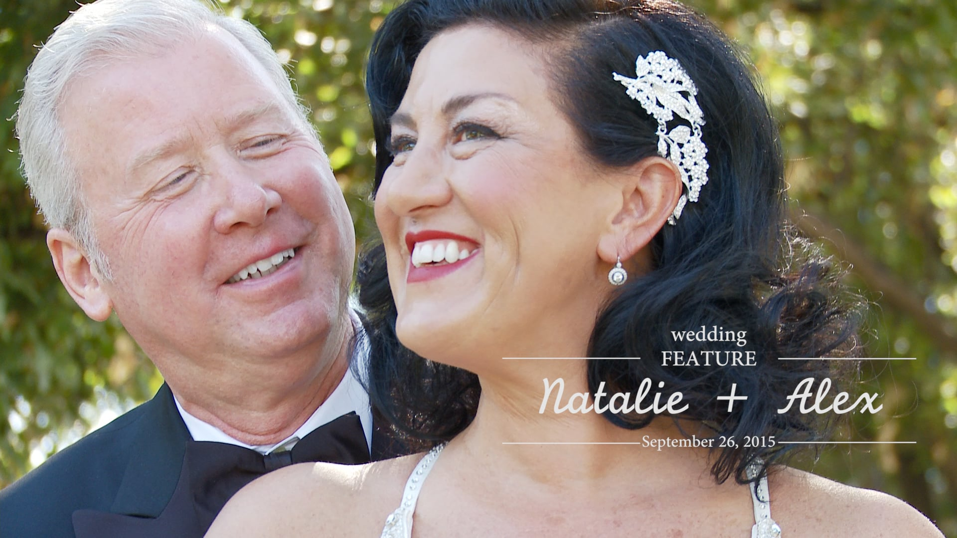 Natalie and Alex Wedding Feature